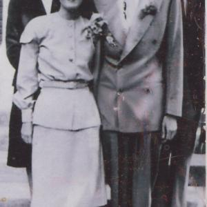 Bill and Olive Tewes, c.1945