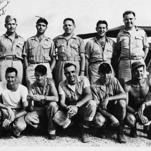 Crew of the Bockscar Airplane
