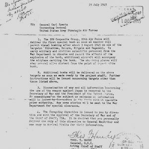 Bomb Delivery Letter