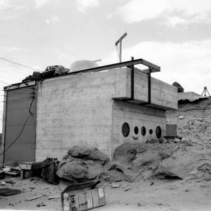 Camera installations, photo shelter (10,000 N of Ground Zero at Trinity Site)