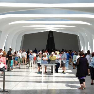 The USS Arizona Memorial is a place to reflect on and remember the servicemembers and civilians who died in the attack on Pearl Harbor.