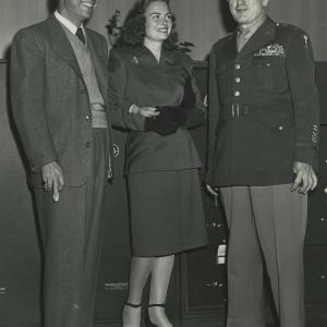 Donna Reed & Thomas Farrell. Photo courtesy of the Patricia Cox Owen Collection.