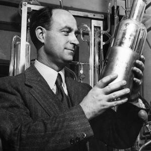 Enrico Fermi. Photo courtesy of Argonne National Laboratory.