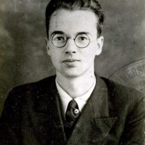 Klaus Fuchs as a young man