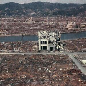 After the bombing of Hiroshima