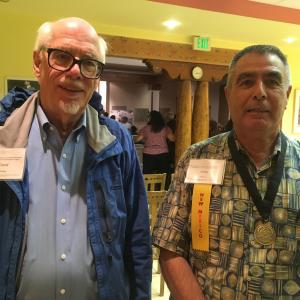 David Schiferl and Willie Atencio at the conference
