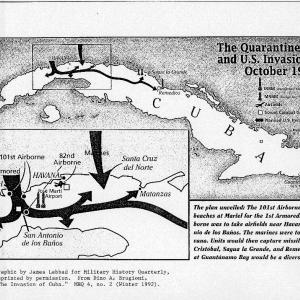 U.S. invasion plan of Cuba, 1962