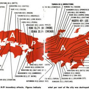 Incendiary attacks on Japan