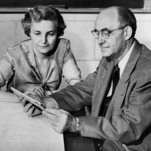 Enrico Fermi and his wife, Laura