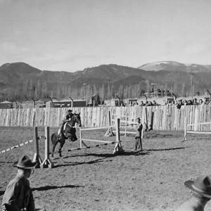 Los Alamos field day, 1944