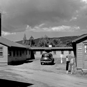 The hospital at Los Alamos in 1948