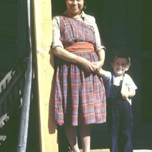 Marie Herrera with Peter Bretscher, photo courtesy of the Churchill College Archives
