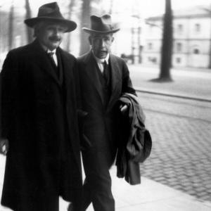 Niels Bohr and Albert Einstein