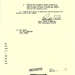 Site Y Security Measures Document, 3/1944, 2 of 2.