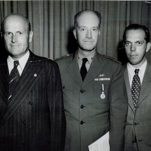 "Ross Gunn, William ""Deak"" Parsons, and Philip Abelson"