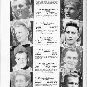 Robert Hayes's profile in the Operation Crossroads Yearbook