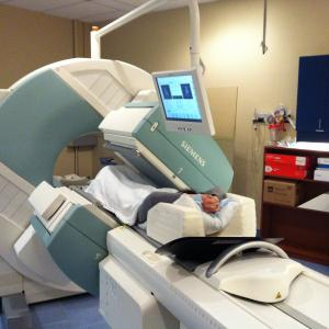 A SPECT scan