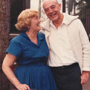 Raymond and Yvonne, taken in Tallahassee in the 1990s.