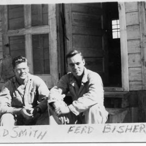 Harold Smith and Ferd Bisher, Trinity 1945