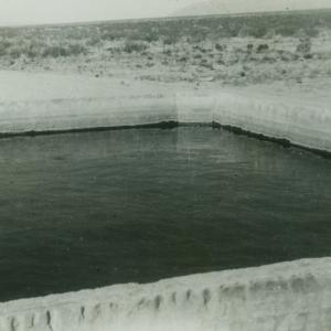 Swimming hole at Trinity Site. Photograph courtesy of Willie Atencio and David Schiferl.