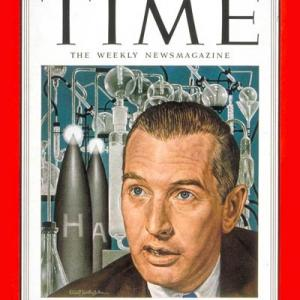 Crawford Greenewalt on the cover of Time magazine