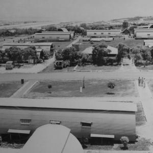 Quonset Huts on Tinian