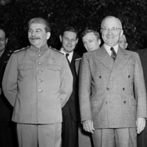 Harry Truman and Joseph Stalin