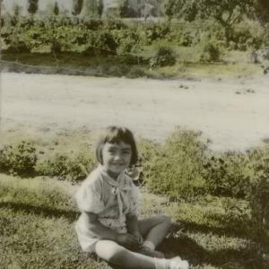 Virginia Montoya Archuleta as a young girl. Courtesy of Willie Atencio and David Schiferl