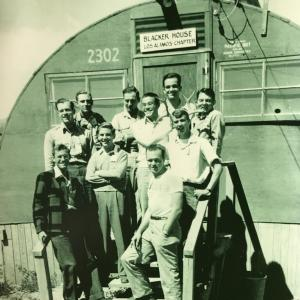 Warren Waters (Front Right) Los Alamos c. 1947. Photo Courtesy of Dr. Carolyn Broe