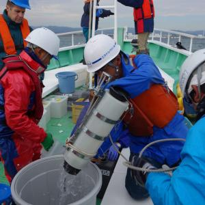 Water Sample Collection by IAEA & Japanese Marine Experts nearby Fukushima Daiichi. Photo Credit: Petr Pavlicek / IAEA (IAEA Imagebank Flickr https://www.flickr.com/photos/iaea_imagebank/15111778564/in/photolist-p2nPhh-hkyAsz-e2oZTE-hTqc73-qcinvM-ec5jXh)