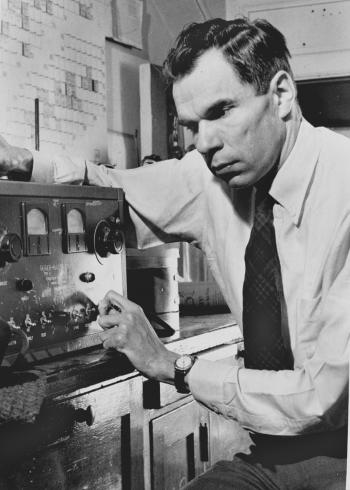 Glenn Seaborg. Photo courtesy of Argonne National Laboratory.