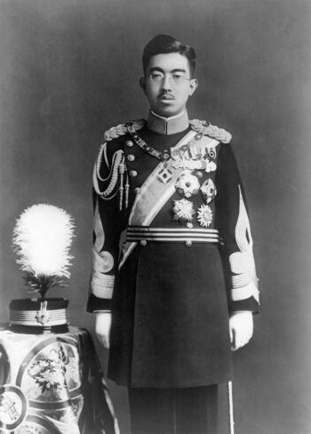 Emperor Hirohito during the war