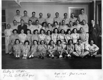 Ruby's group at the Y-12 Plant