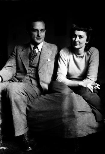 Stanislaw and Françoise Ulam
