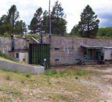 The Gun Site at Los Alamos, where the Little Boy bomb was assembled