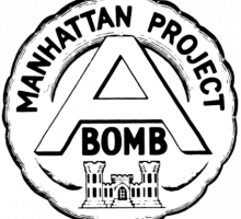 The Manhattan Project insignia. Image courtesy of Alex Wellerstein.