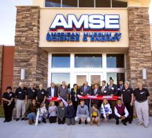 Ribbon cutting at new AMSE. Image courtesy of DOE Oak Ridge Office.