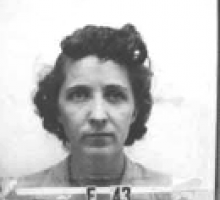 Naomi Livesay's Los Alamos ID badge photo