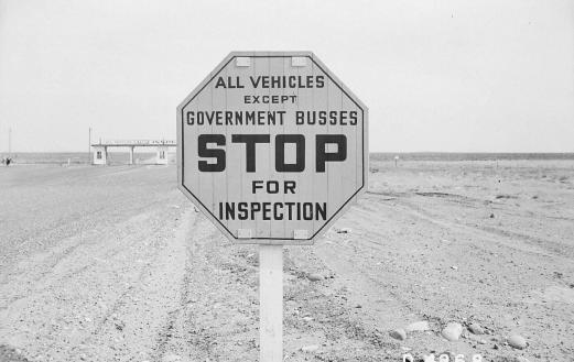 1944 sign at Hanford Site