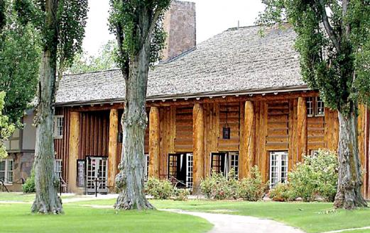 Fuller Lodge at Los Alamos