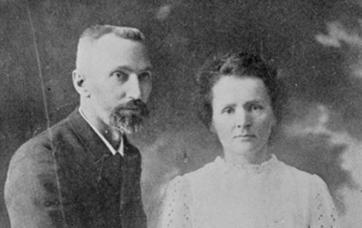 Pierre and Marie Curie. Photo courtesy of the Musée Curie (coll. ACJC).
