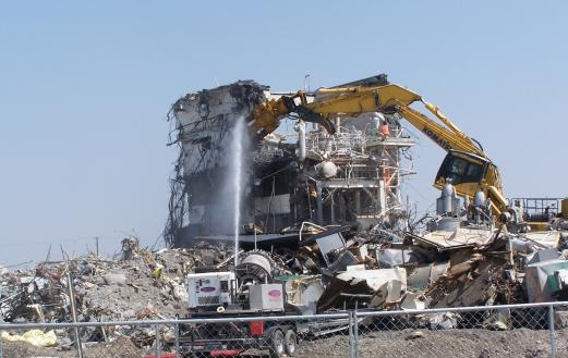 DOE cleanup efforts at Hanford Site