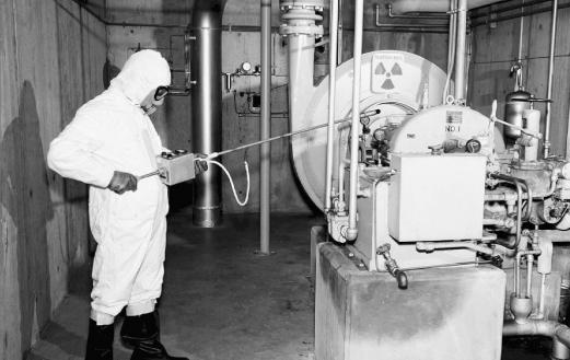 Radiation measurement at Hanford