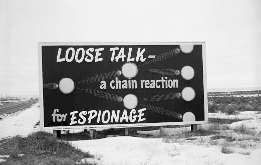 Manhattan Project billboard