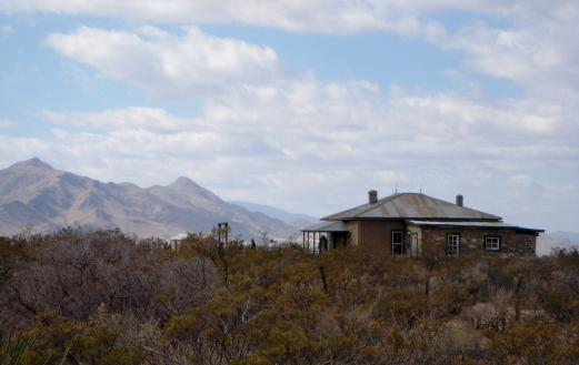 The McDonald Ranch House at the Trinity Site today