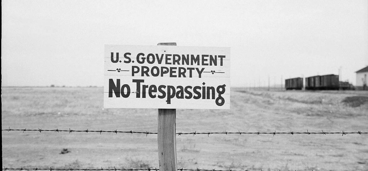 Access to the Hanford site was strictly controlled by the government