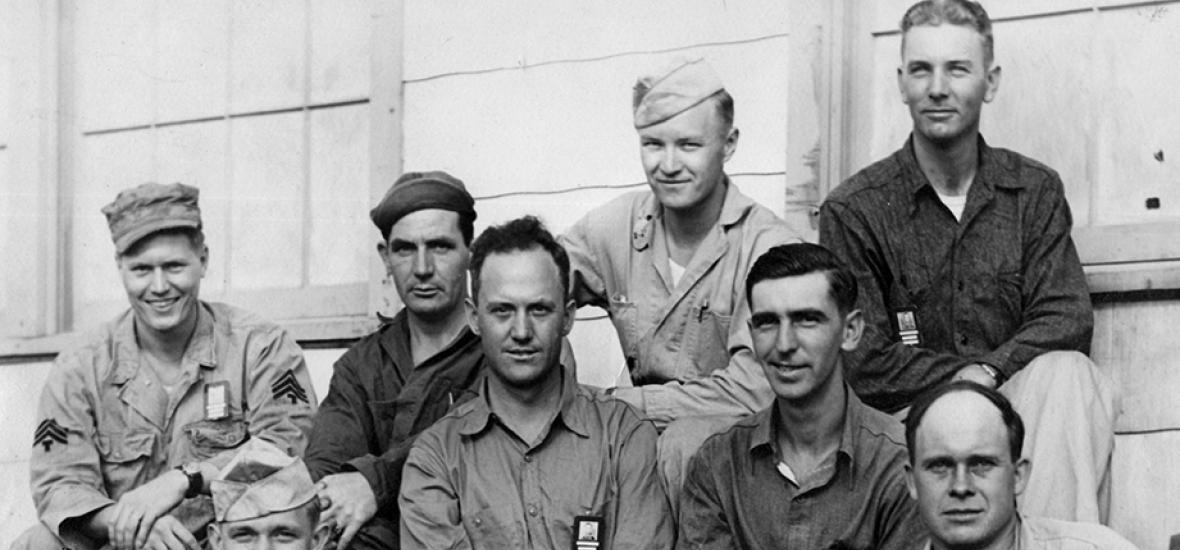 Machinists at Los Alamos in 1945