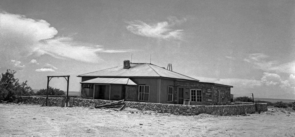 The McDonald Ranch House at Trinity Site